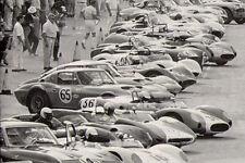 1967 Chevy Vette Corvette Sport Race Car 43 Vintage 24 Carousel Blue 18 Metal 12