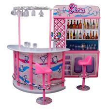 Ensemble Gloria Meuble Maison de Poupée Bar Pour Barbie Jouet Cadeau
