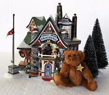 "Department 56 North Pole, ""Teddy Bear Training Center"" Set of 6"