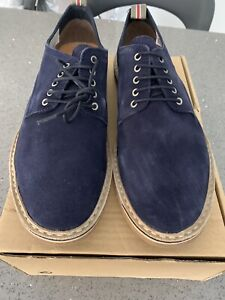 Bertie Navy Suede Shoes Mens Size 11 Brand New