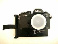 Nikon FM2 35mm black body with Polaroid back