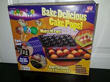 As Seen On TV BAKE DELICIOUS CAKE POPS EXCELLENT CONDITION