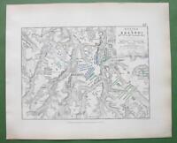 1848 Fine Quality Map - RUSSIA Krasnoy & Environs + Napoleon Battle of 1812