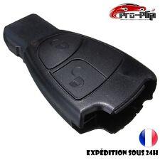 COQUE CLE PLIP pour Mercedes BenzC E CLK ML SLK S CLS B CL 2 boutons BOITIER TE
