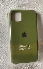 Original Apple iPhone 11 Silikon Case in Kaktusgrün