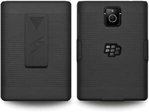 BlackBerry Passport Shell Holster Combo Case with Clipstand & Belt Clip
