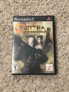 Contra: Shattered Soldier (Sony PlayStation 2, 2002) - Japanese Version