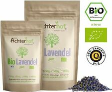 Bio Lavendelblüten getrocknet 100g   getrockneter Lavendel aus kbA der Provence