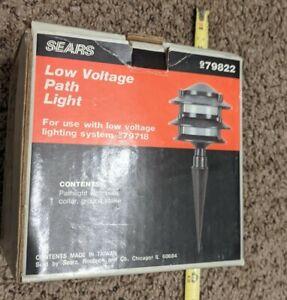 Vintage NOS Sears Low Voltage Path Light # 979822 NIB