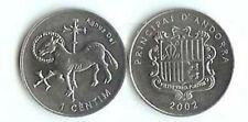 ANDORRA: 4-PIECE UNCIRCULATED COIN SET