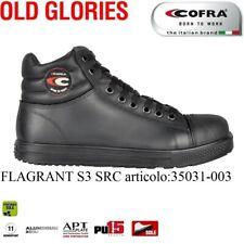 Scarpa antinfortunistica Cofra FLAGRANT S3 SRC pelle idrorepellente +