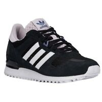 official photos bc252 d06f3 Adidas Originals ZX 700 Womens Girls Trainers Black White UK 3.5