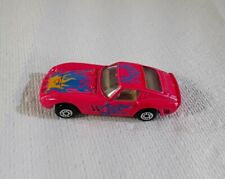 Maisto Ferrari 250 GTO Pink With Blue And Yellow Flames