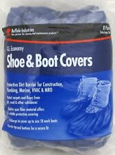 Buffalo XL Economy Work Shoe & Boot Covers Protective HVAC X-Large (10 Pairs)