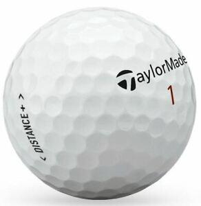 40 TaylorMade Distance Golf Balls ALL PEARL / A Grade