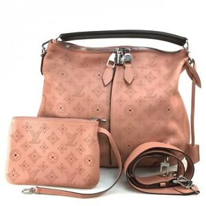 LOUIS VUITTON M94276 MonogramMahina Serene PM Cross body Shoulder Bag Hand Bag