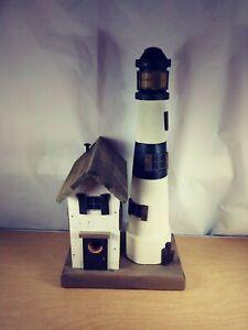 M.L. Studtman Original Lighthouse Birdhouse  Made In USA