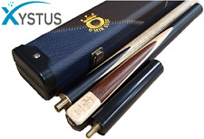 """Snooker Cue 3 Piece 57""""- 63"""" And 3/4 Snooker Case Premium Quality Professional"""
