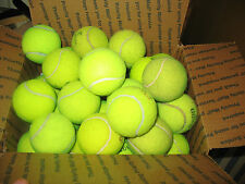 Lot of  15 Used Tennis Balls for Chairs~Dog Play Toys, Batting Practice~ Fetch