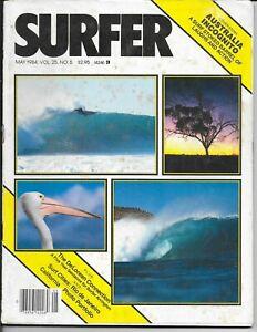 Vintage SURFER Magazine May 1984 Vol 25 No 5 Australia Rio de Janeiro California