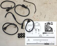 jeep wwii mil willys mb, ford gpw l134 original ignition wire kit us made,