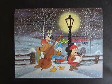 Walt Disney's Pluto`s Christmas Tree $5 mini stamp sheet from Redonda UMM