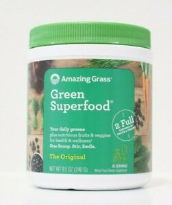 AMAZING Grass | Green Superfood Powder | 30 Servings EXP 09/2022 FREE SHIPPING!!
