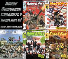 R.A.H.C. Guide G.I. Joe Rank & File Reference book Cobra 1.1, 2.1, 3.1, 4,
