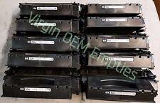 10 Virgin Genuine Empty HP 53X Laser Toner Cartridges FREE SHIPPING Q7553X