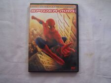 Spiderman Full Screen Special Edition DVD 2 Disc Set PG-13 ACTION ADVENTURE