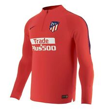 Nike Atletico Madrid Dry Squad Drill Top 1/4 Zip 913999 672 Soccer Jacket L Rare