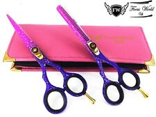 5.5 Professional Hair Cutting Thinning Scissors Shears Barber Salon Hairdressing