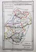 Lot Tarn et Garonne 1794 Nègrepelisse Lauzerte Cajarc Luzech Cazals Molieres