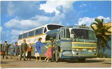"Greyhound Bus 43 Passenger ""The Super Sceinicruiser"" Postcard"