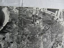 Byblos Ausgrabungen Foto Luftbild 1950 mit Beschreibung Ausgrabungsstätten TOP!!