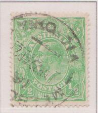 (Q19-20) 1914 AU ½d green KGV (A)