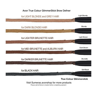 Avon TrueColour GlimmerStick Brow Definer~Pick Colour ~ Great Mothers Day Gift!