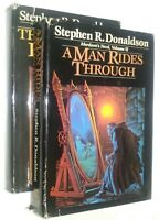 Mordant's Need Two Volume Set by Stephen R. Donaldson Book Club Edition