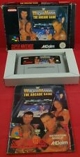WWF Wrestlemania the Arcade Game SNES