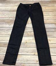 "American Eagle Women's Jegging Jeans Coated Dark Indigo Shimmery Sz 0 W24"" L28"""