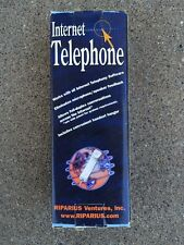 Internet Telephone Handset Skype & VoIP Applications Riparian Int100gb2 In Box