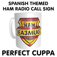 España Spagnolo Spagna a tema Ham amatoriali indicativo di chiamata CB maniglia o nome