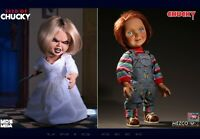 "Child's Play Good Guy Chucky 15"" & Seed of Chucky TIFFANY Talking Mega Dolls PO*"