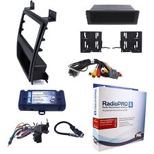 Radio Replacement Interface & Upper Dash Mount Kit Single/Double Din w/RSE