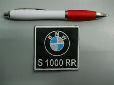 patch correctif BMW MOTORRAD S 1000 RR broderie bordé thermo-collant 6x6