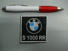 toppa patch BMW MOTORRAD S 1000 RR embroidery ricamato termoadesivo 6x6