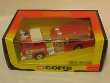 MADE IN GREAT BRITAIN CORGI #2029 MACK FIRE PUMPER MIB