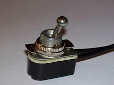 ON/OFF TOGGLE CANOPY SWITCH NICKEL PLATED LAMP PART NEW 31149K