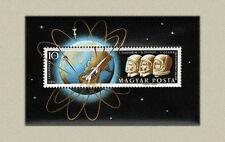Hungary 1962. Space - Glenn sheet MNH (**) Mi.:Bl. 33a / 15 EUR