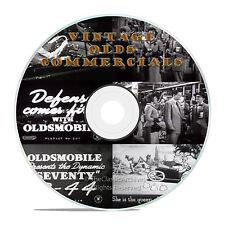 Vintage Olds Oldsmobile GM Commercials, Ads, Promos, The B-44, on DVD -J69